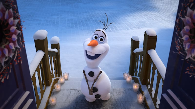Fun Facts from Olaf's Frozen Adventure in Pixar Short
