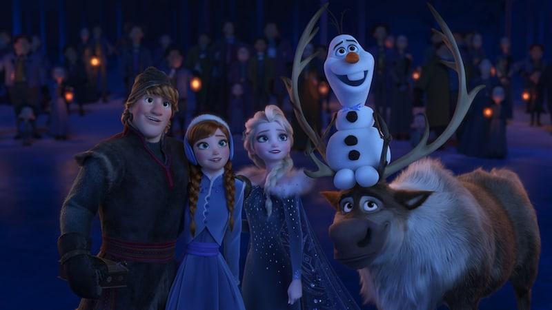Olafs Frozen Adventure, Pixar Short, COCO premiere