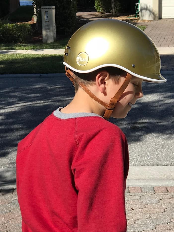 Thousand Bike Helmet, Limited Edition Stay Gold Helmet