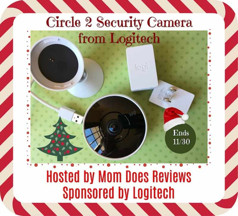 LOGITECH SECURITY CAMERAS GIVEAWAY