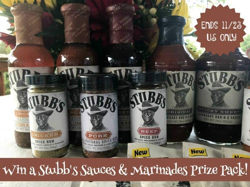 Stubbs sauces and marinades