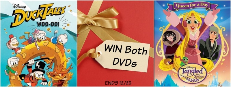 DISNEY DVDs giveaway