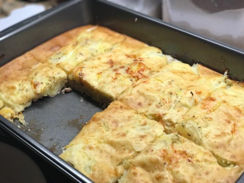 pie casserole with kefir recipe