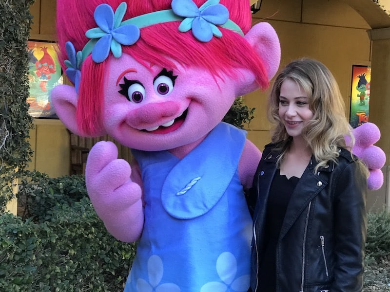 Actress Amanda Leighton, Voice of Poppy, Trolls The Beat Goes On, Netflix