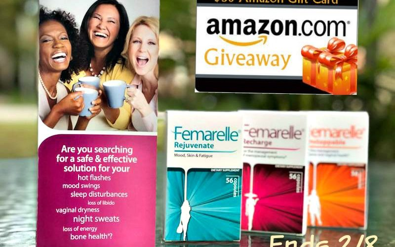 Win $50 Amazon Gift Card + Femarelle Products