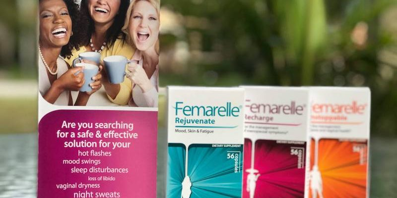 Premenopausal Symptoms Can Be Managed With A Non-hormonal Femarelle