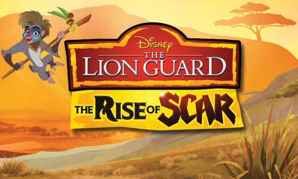 Win New Disney The Lion Guard: The Rise of Scar DVD