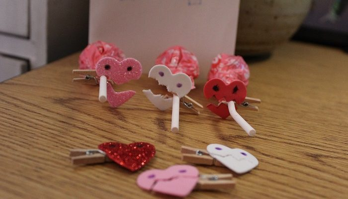 Monster Heart Clips Craft Tutorial To Wow Your Valentine