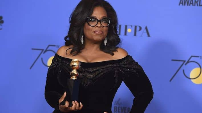 "HOW-TO End The ""Me, Too"" Is In Oprah's Golden Globes Speech"