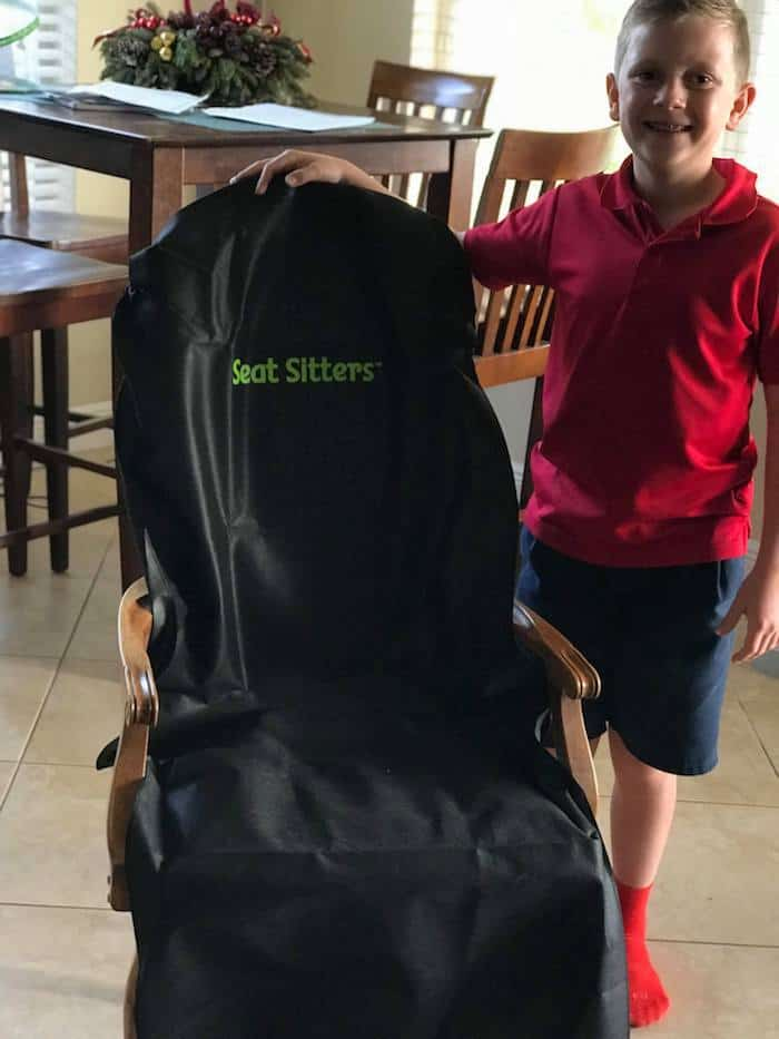 Seat Sitters, seat cover for travel