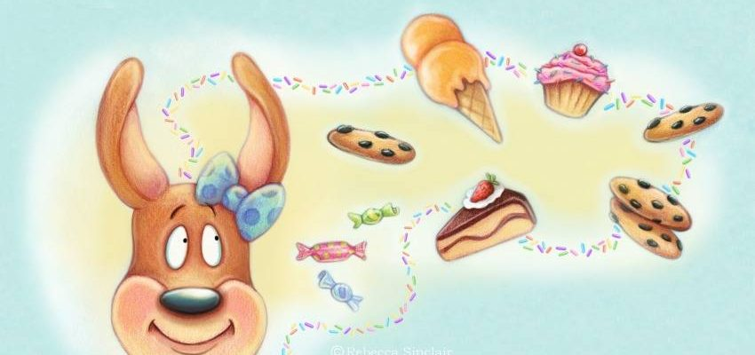 $50 Amazon GC Giveaway #CamiKangaroo Has Too Many Sweets! #Kickstarter