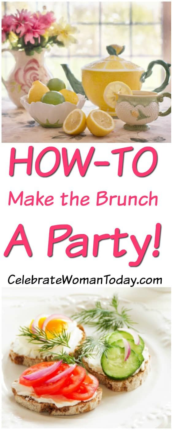 HOW-TO make a Brunch a Party