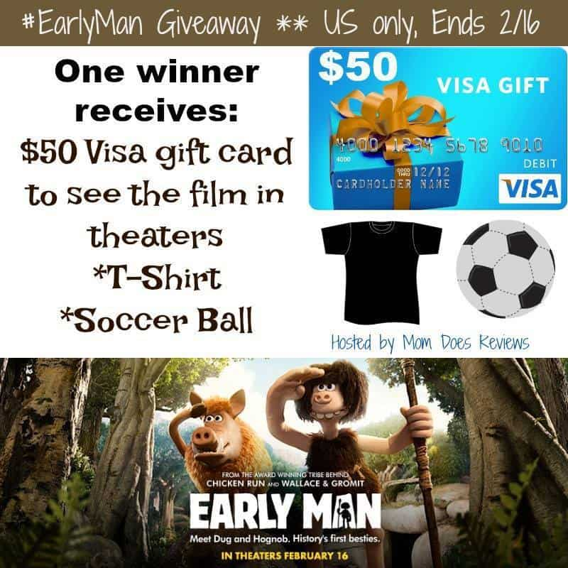 Lionsgate Early Man giveaway