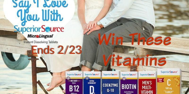 Win Superior Source Vitamins for Family This Winter