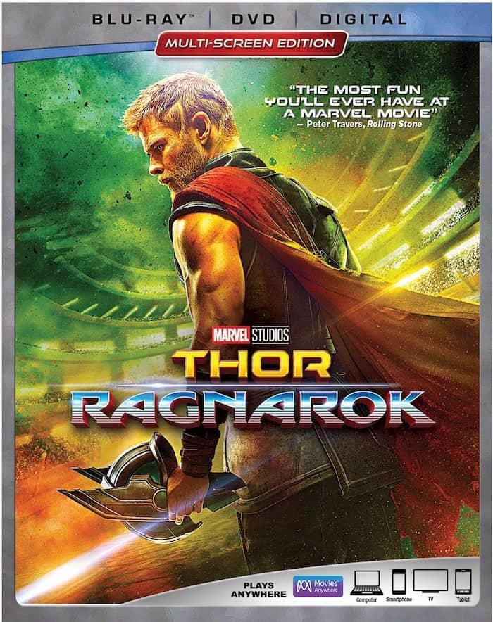 Thor Ragnarok blu-ray DVD release date
