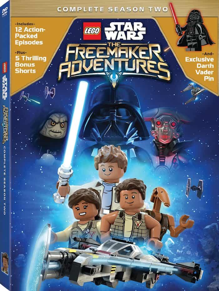 LEGO Star Wars The Freemaker Adventures Season 2 DVD