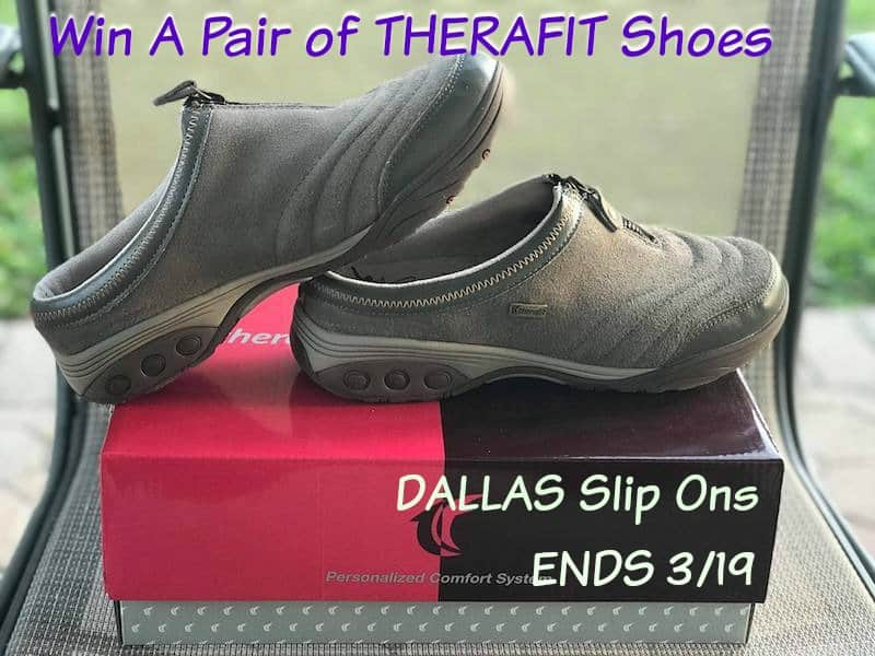 THERAFIT SHOES DALLAS SLIP ONS