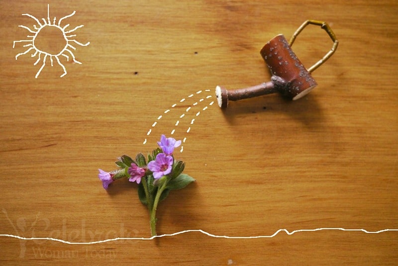 Easy Easter DIY Cute Twig Watering Can Craft Idea