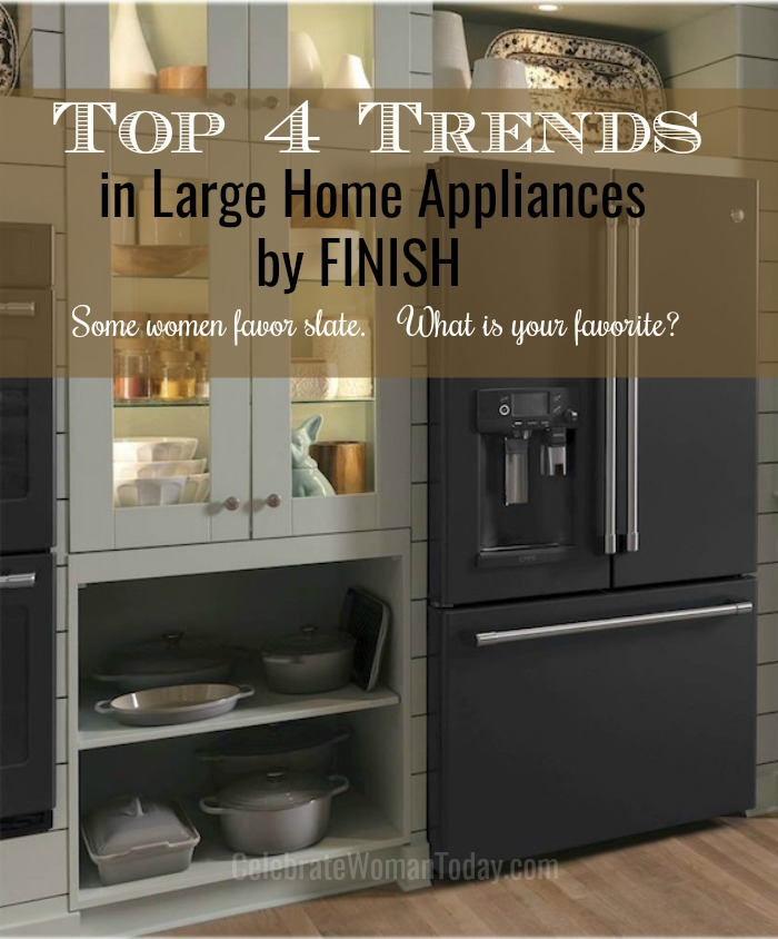 How do you shop for large home appliances? What do you take into consideration? Here's your mini guide into something you may not have considered – appliance finish and how it may add to your home remodeling or appliance update. Check it out before buying! #appliances #remodeling #home #heartthis #homeimprovement #kitchenappliances #stainlesssteel #slatefinish