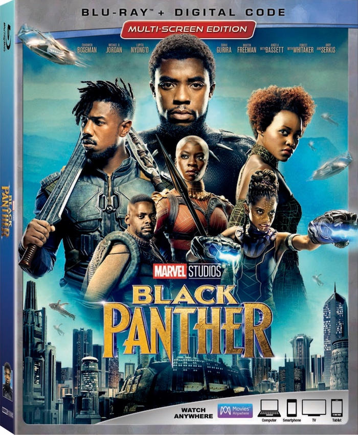 I love this blu-ray DVD for Marvel's Black Panther. It is packaged several ways to ensure fans get the most out of their in-home viewing experience.