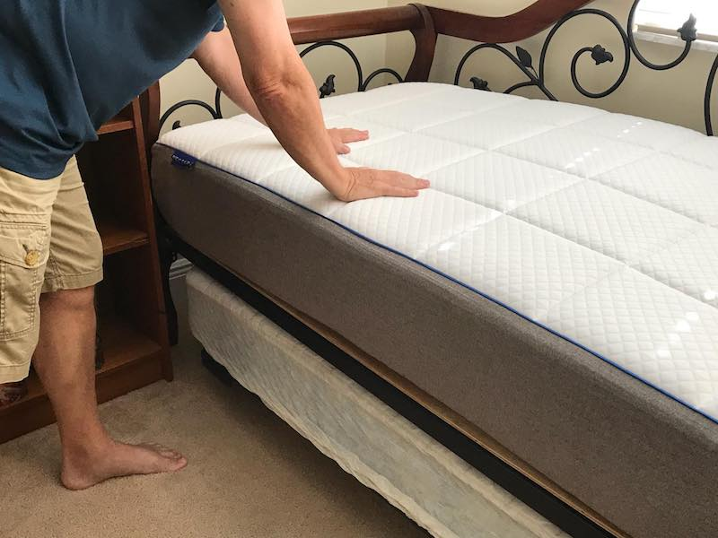 NECTAR mattress for back pain and comfortable night sleep