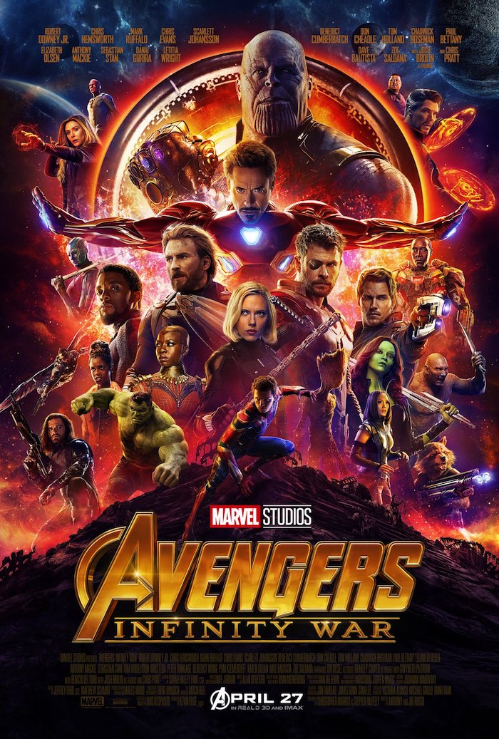 AVENGERS: INFINITY WAR Characters and Actors