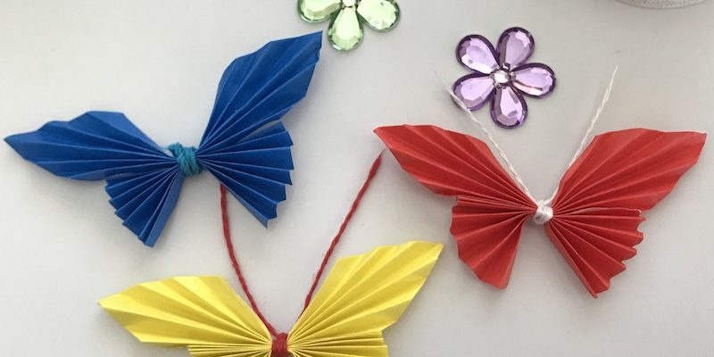 Easy Butterfly Paper Craft Tutorial You CAN Do!