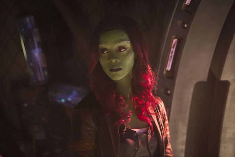 Brilliant MARVEL Cast AVENGERS: INFINITY WAR Gamora, Actress Zoe Saldana