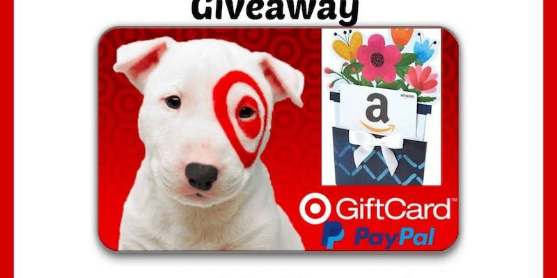 Who Is Ready for Another Target Gift Card Or PayPal Cash Giveaway?