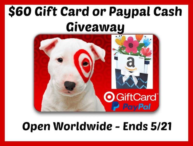 Who wants to celebrate with Target gift card or cash from PayPal?