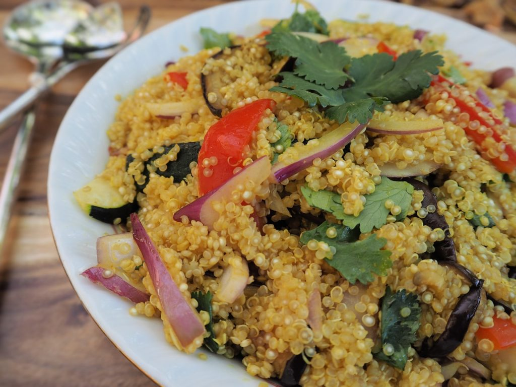 Quinoa Recipe with Vegetables