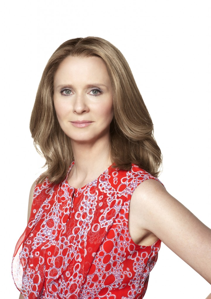 Cynthia Nixon is Spokesperon for the ROSACEA Foundation