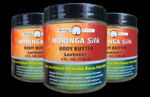 Moringa Silk Body Butter Lavender