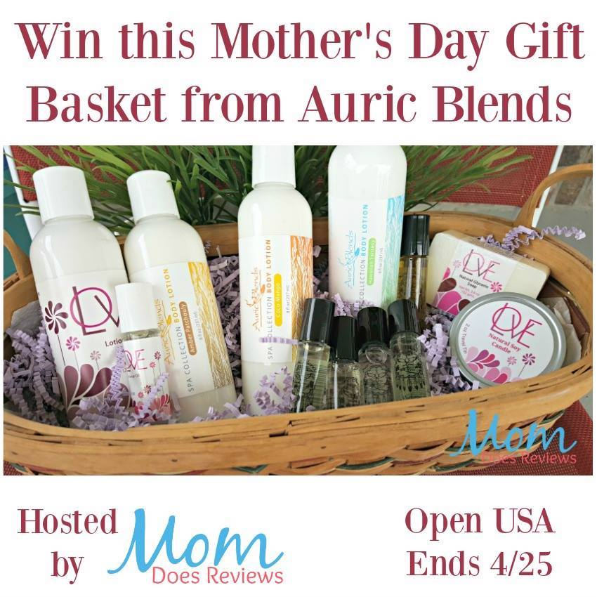 Mother's Day Gift Basket from Auric Blends