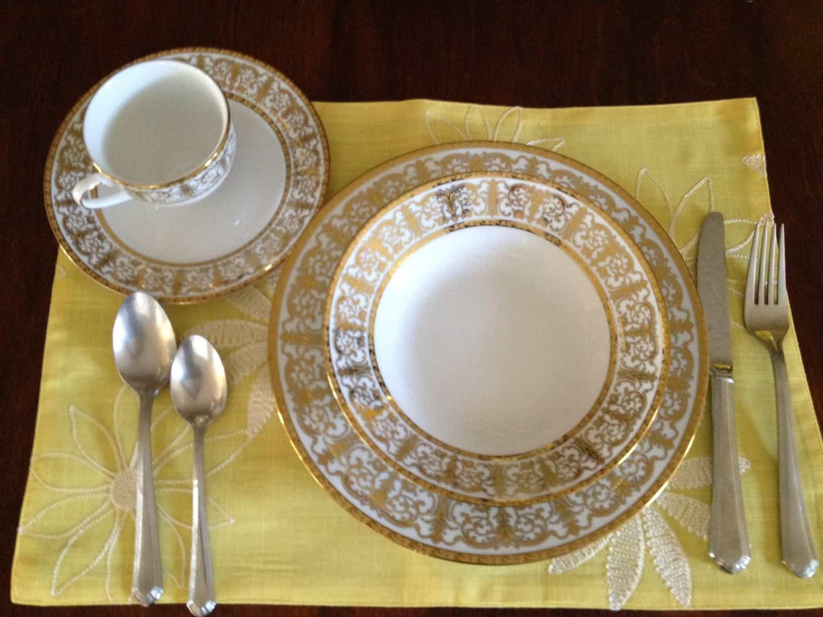 gold dinnerware brylanehome