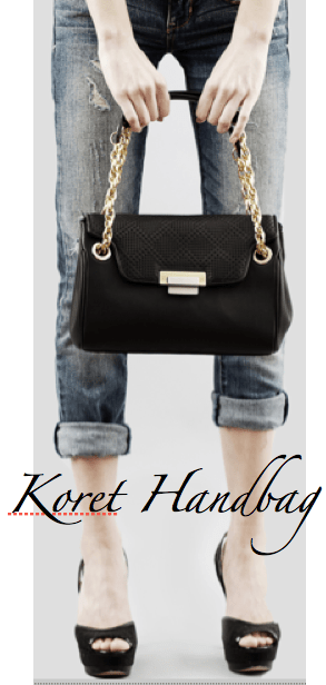 Koret-NewYork-Black-Handbag-CelebrateWomanToday.com