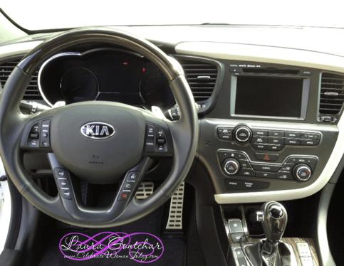 KIA Optima Leather wheel