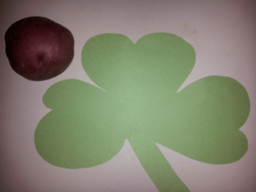 Potato Painting