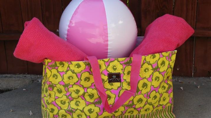 Vonny Oversized Party Tote With Beach Towels Giveaway