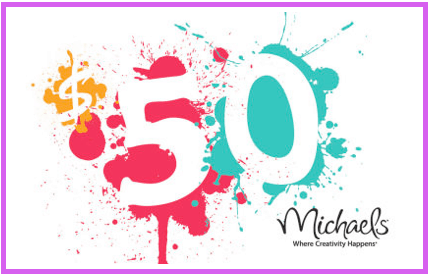 Love To Craft Win 50 Gift Card Michaels