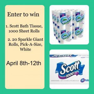 Win An Amazing Cleaning Package That Includes Scott Paper Towels and Bath Tissue