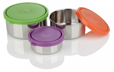 Stainless Steel Lunch Box Trio
