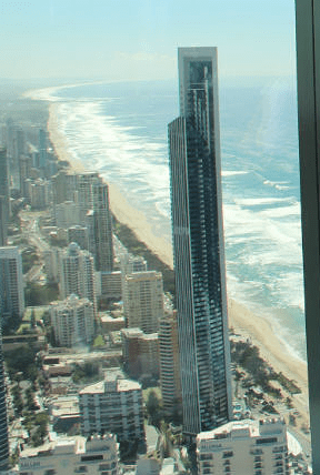 Australia-Gold Coast-View-from- Hotel Tower