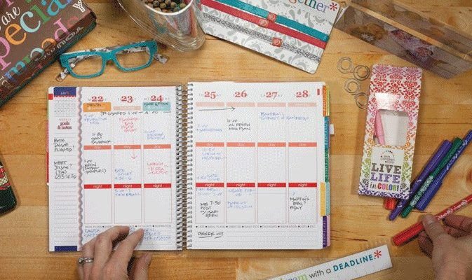 $75 Gift Card To Erin Condren Planner Giveaway