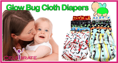 Glow Bug Cloth Diapers Would Make Any Mom And Baby Smile