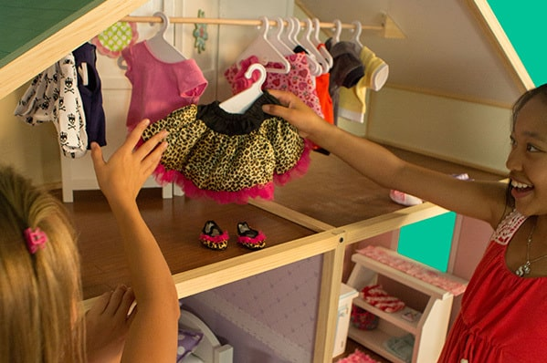 my girls dollhouse clothes