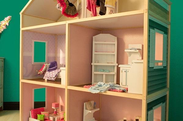 my girls dollhouse interior