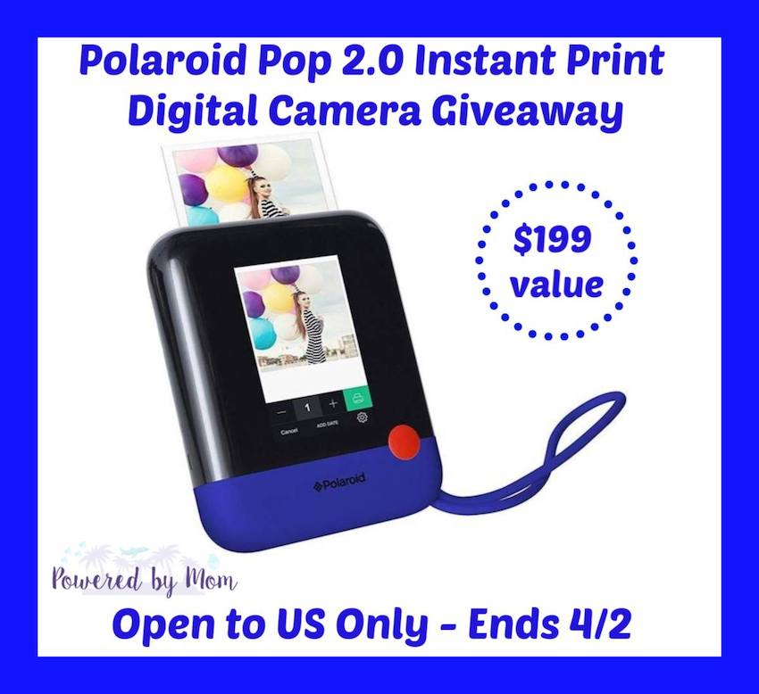 Free Printable on How to Keep Polaroid POP 2.0 giveaway and FREE Printable on how Track of your Gift Ideas List