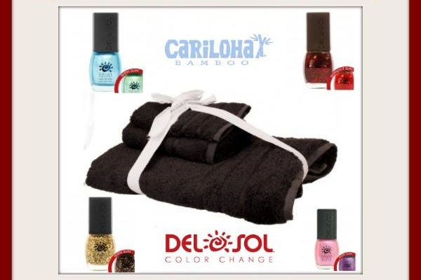 How About Cariloha Bamboo Silky Bath Sheets And Del Sol Color Changing Nail Polish?