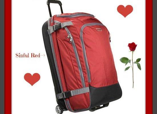 eBags Weekend Getaway Wheeled Duffel Bag Valentine's Giveaway